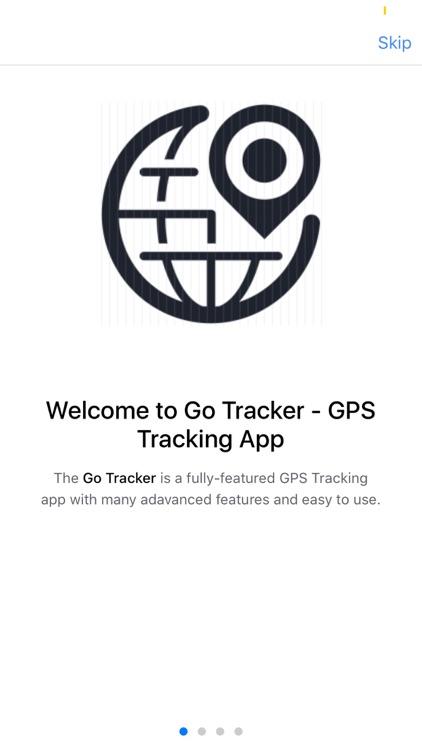 Go Tracker - GPS Tracking App