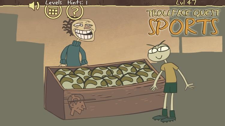 Troll Face Quest Sports screenshot-4