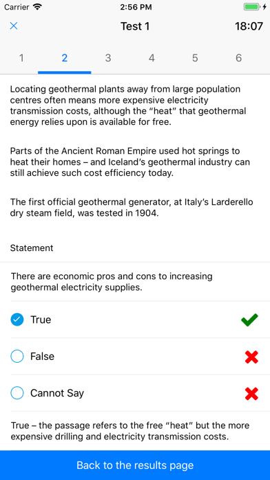 Verbal Reasoning Tests screenshot 4