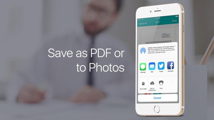 PDF Scanner – scan documents screenshot-3