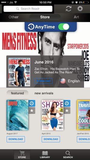 Readr - 10K Magazine Newsstand on the App Store