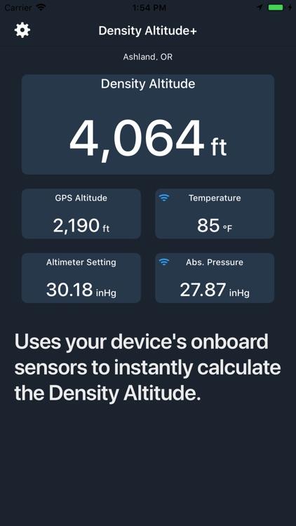 Density Altitude+