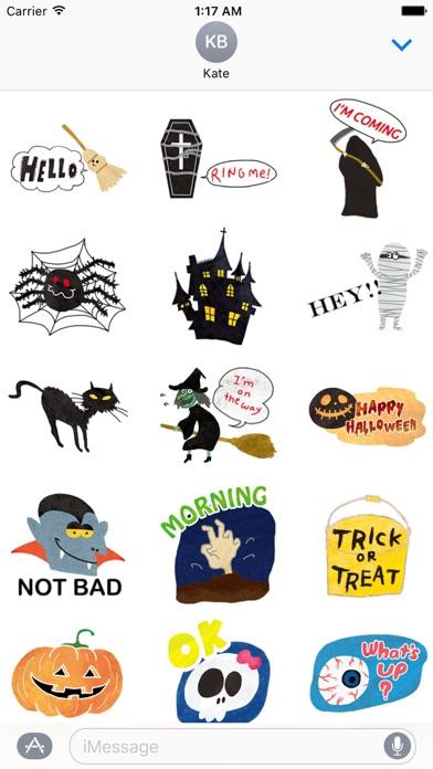 Halloween Characters And Icons screenshot 1