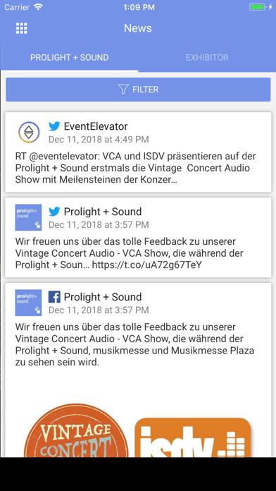 Prolight + Sound Navigator screenshot two