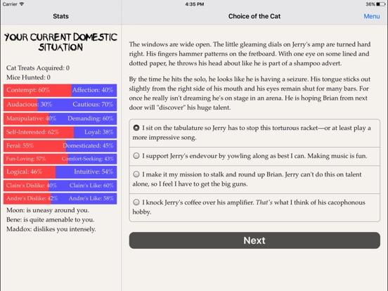 Choice of the Cat screenshot 7