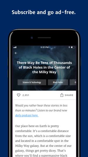 Curiosity - Get Smarter Daily Screenshot