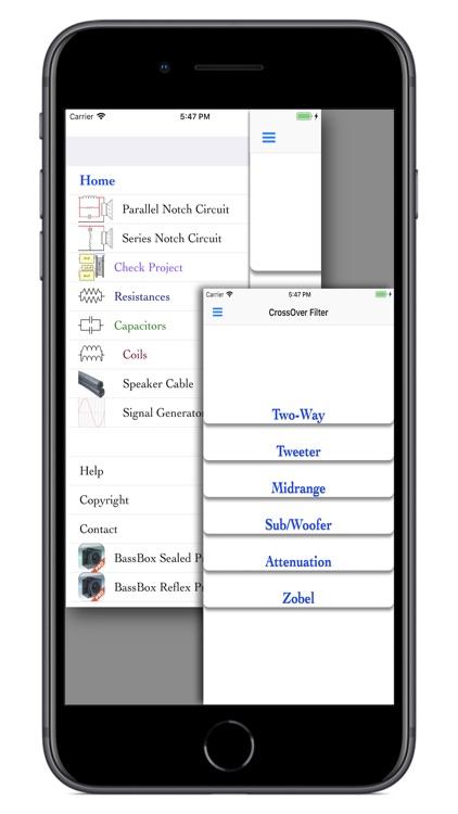 CrossOver Filter screenshot-0