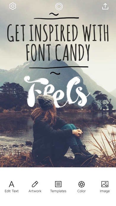 Download Font Candy Photo & Text Editor for Pc