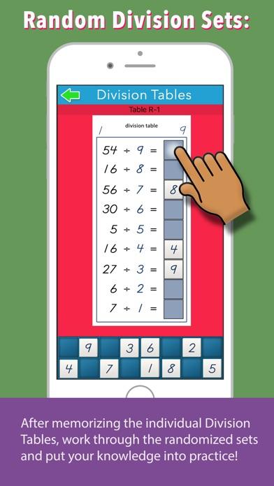 Montessori Division Tables screenshot 4