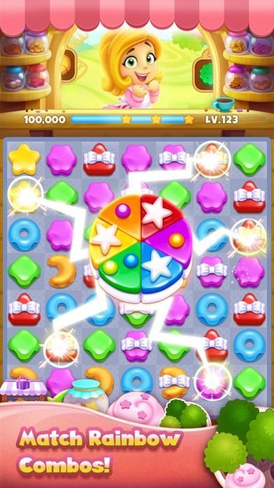 Cookie Yummy - Match 3 Puzzle screenshot one
