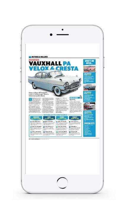 Classic Car Weekly Newspaper screenshot-4