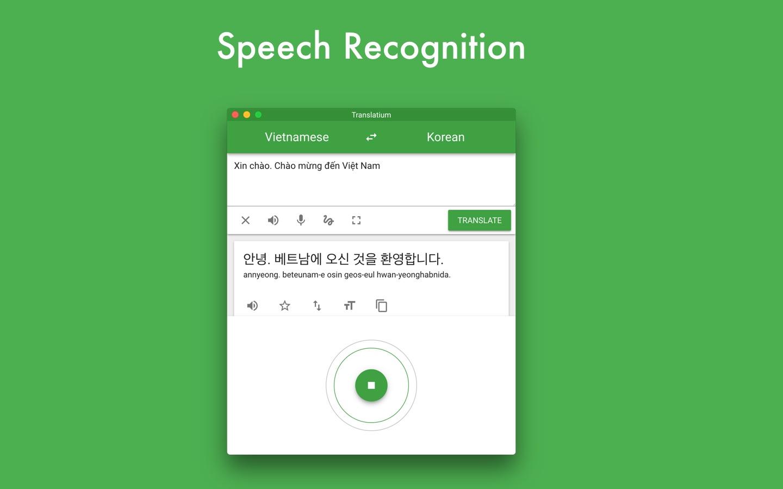 Screenshot do app Translatium - translator