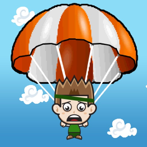 Battle Royale Parachute Drop