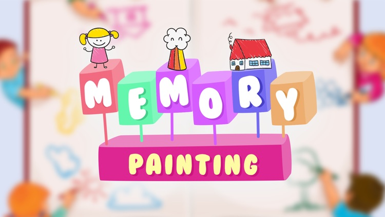Painting - Memory Game for kid