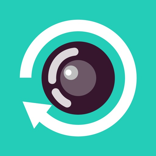 Rewind Camera video in reverse iOS App