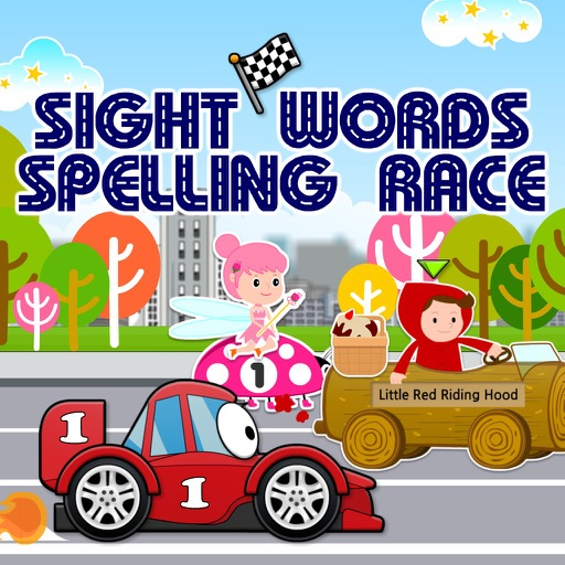 Sight Words Spelling Race: Hot Cars, Fast Fairies & Fairy Tale Dash HD by  Cambridge English Online Ltd