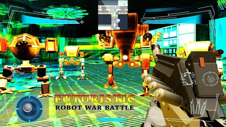 Futuristic Robot War Battle screenshot-4
