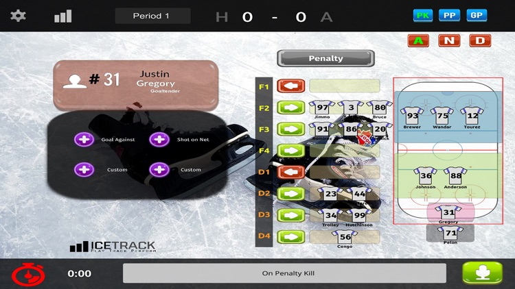 IceTrack Hockey Statistics