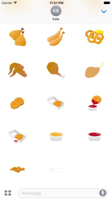 炸食品屏幕截圖4