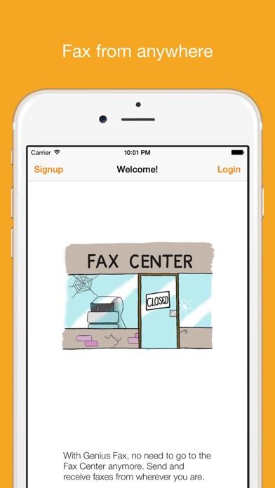 genius fax fax pdf documents iphoneアプリ applion