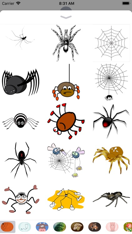 Spider Stickers - 2018