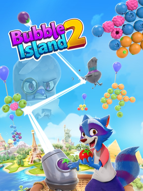 Игра Bubble Island 2: Fruit Shooter
