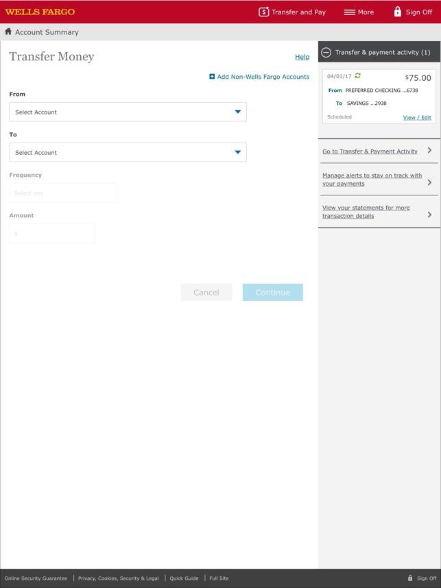 Wells Fargo For Ipad En App Store