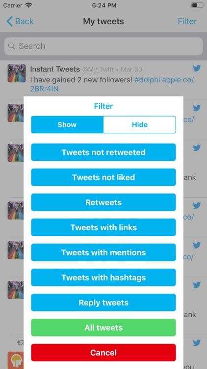 Dolphi for Twitter screenshot-3