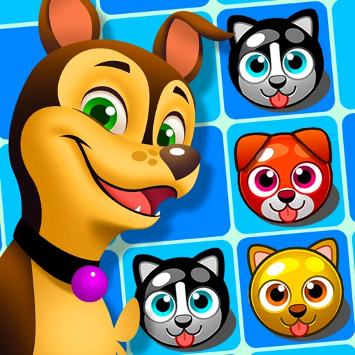 Puppy Paw Rescue : Funny Dogs iOS App