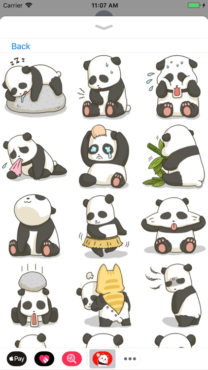 Panda Stickers Collection screenshot-4