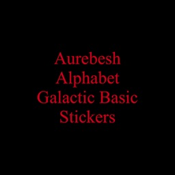 Aurebesh Stickers