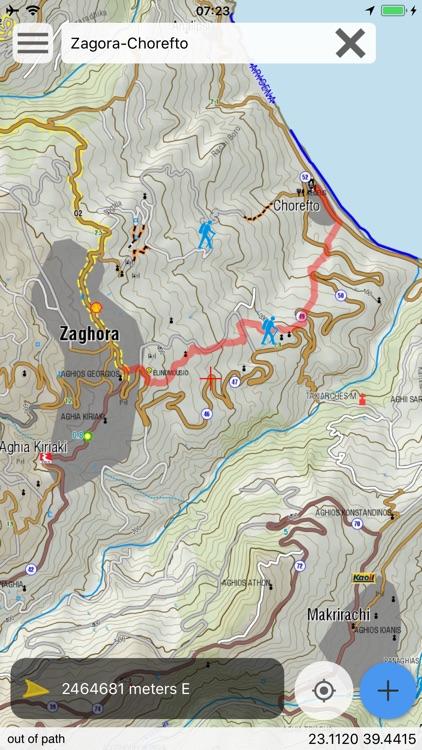 East Pelion topoguide screenshot-7