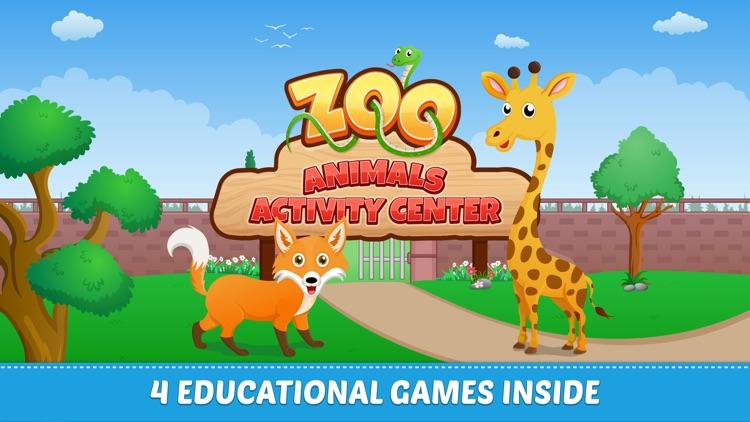 Zoo Animals Learning Game screenshot-0