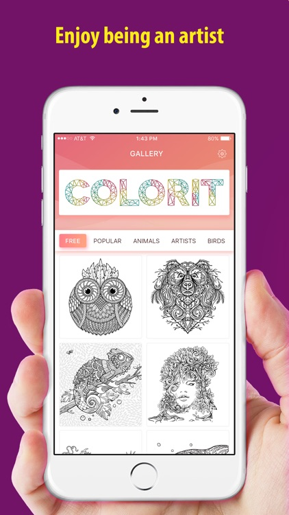Color it - Coloring book !! screenshot-3