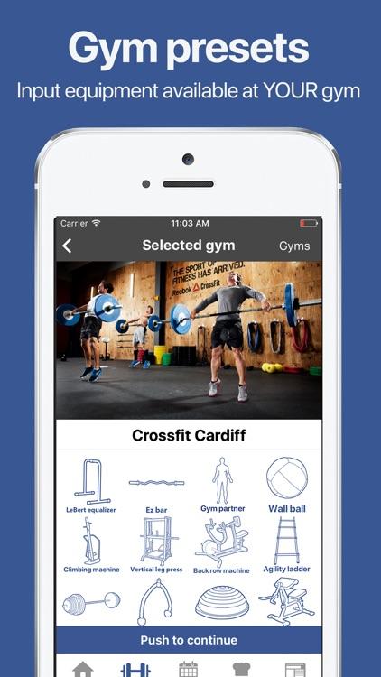 Gymster+ IIFYM Diet & Workout screenshot-3