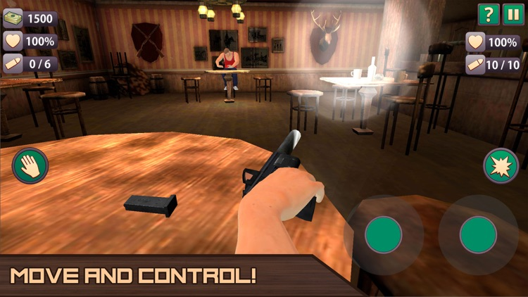 Arm Gun Simulator