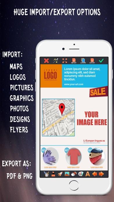 Screenshot #3 pour Créer des Flyers & Logos Maker