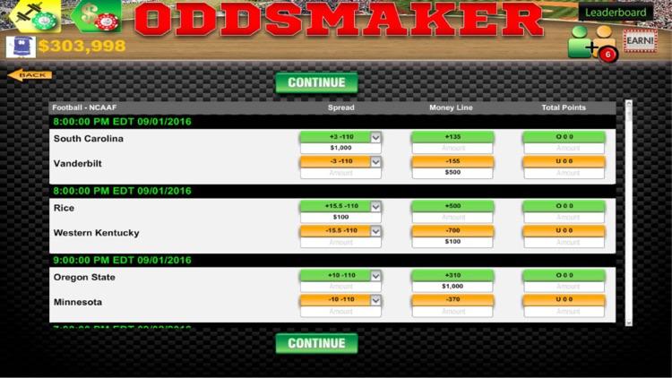 Oddsmaker: SportsCasino screenshot-9