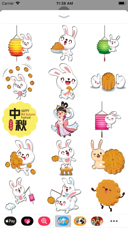 Mid-Autumn Festival Stickers screenshot-3