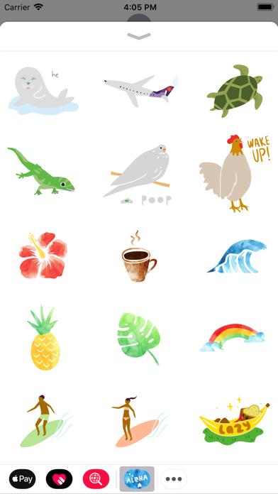 Aloha Sticker PackScreenshot of 5