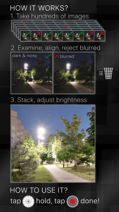 Stabilized Night Camera Screenshots