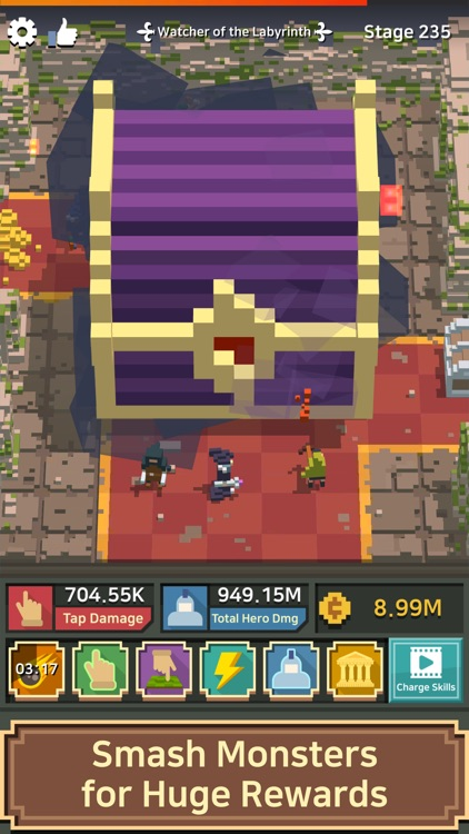 pixel champion king of heroes by braveorange
