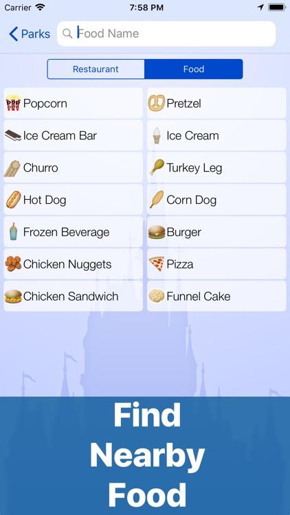 Dining at Disney World screenshot-4