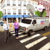 City Crime News Reporter Truck