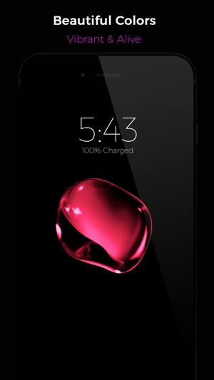 Black Lite - Live Wallpapers Screenshot