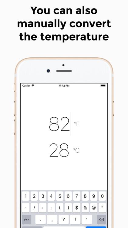WeatherGO - Weather Converter screenshot-3