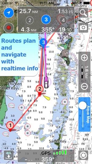 Aqua Map US Marine Chart GPS on the App Store