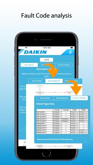 Daikin Service screenshot three