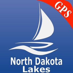 North Dakota Lakes GPS Charts