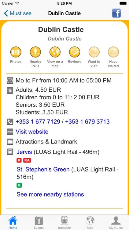 Dublin Travel Guide Offline screenshot-4